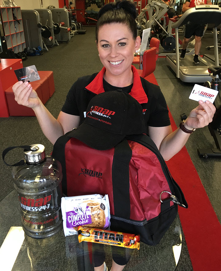 Snap Fitness Giveaway North Lakes