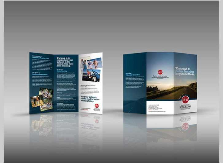 North Lakes Brochures and Business Cards