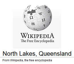 North Lakes Demographic Data from Wikipedia