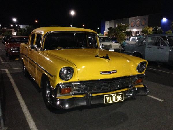 Classic Cars Display North Lakes