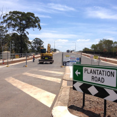 Plantation Road Overpass