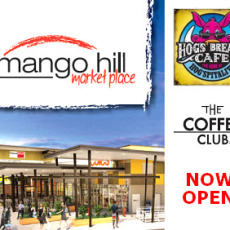 Coffee Club and Hogs Breath Opening Mango Hill