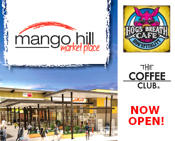 Coffee Club and Hogs Breath Opening Mango Hill