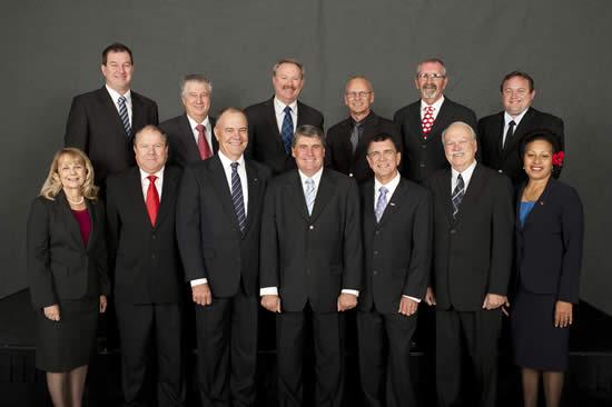 MBRC Councillors Elect 2012