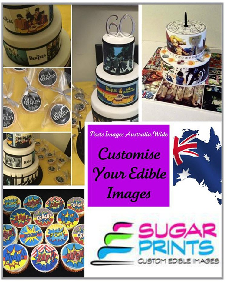 printing edible cake toppers