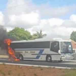 School-children-unharmed-in-school-bus-fire