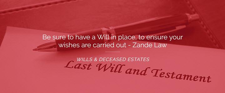 Wills Estates Probate Lawyer