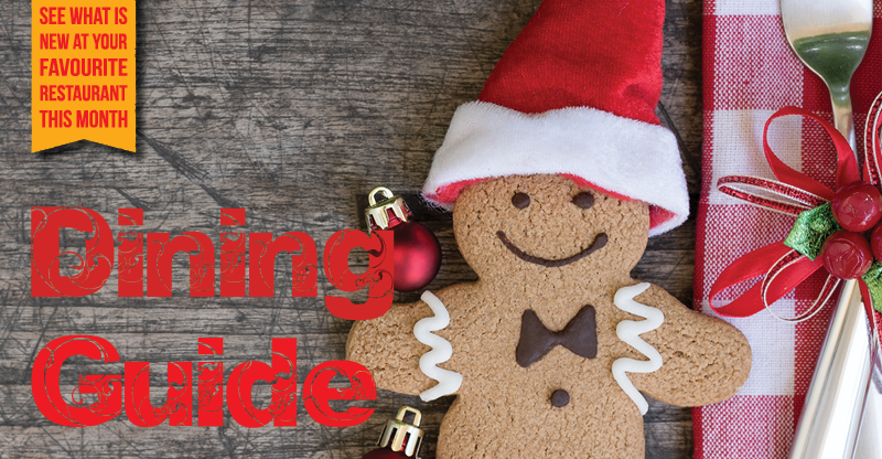 Dining Guide Header Christmas themed