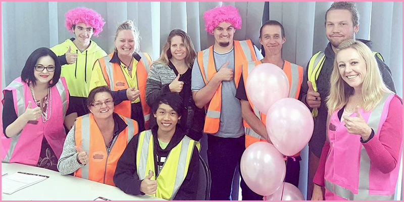 Bright-Training-&-employment-partners-go-pink-the-team