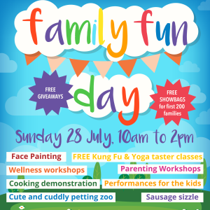 Family Fun Day July 2019