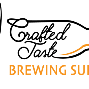 Crafted Taste Brewing Supplies Logo Outline